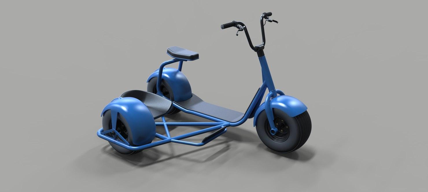 scrooser concept 3D model