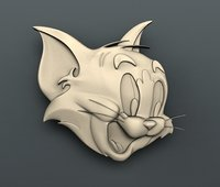 3D model tom cnc