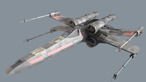 x-wing fighter model