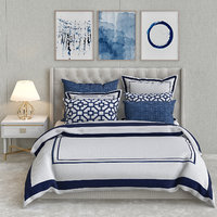 3D embroidered bedding