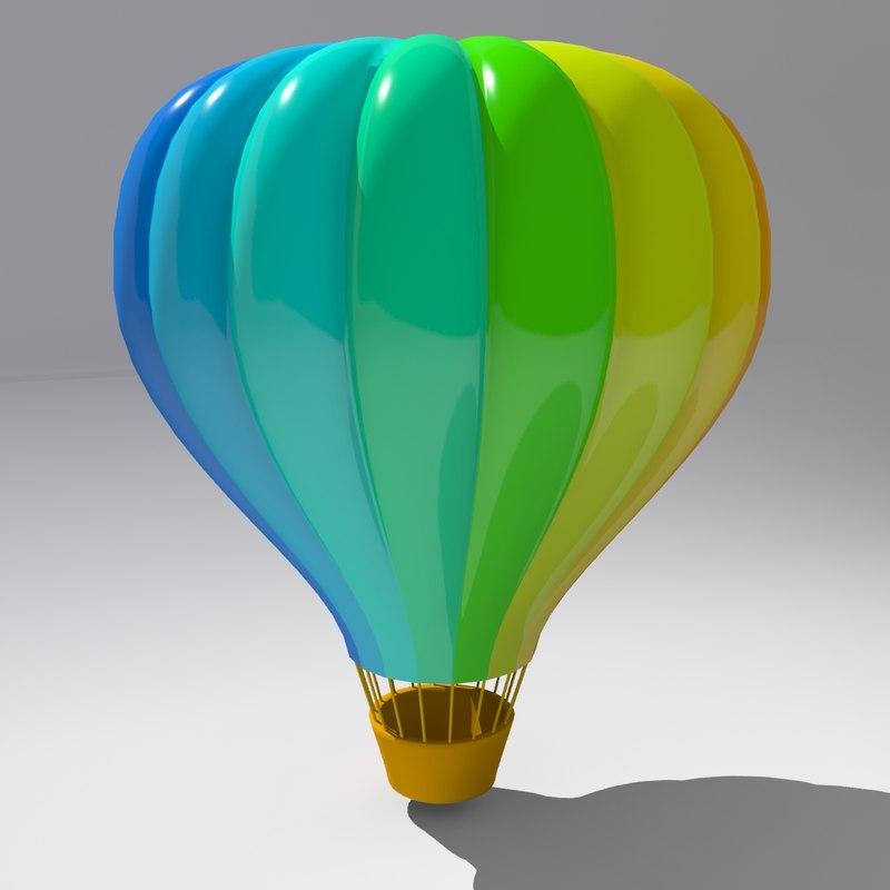 3D ballon model