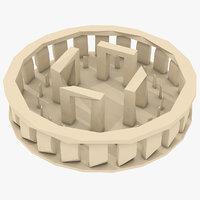 3D concepts stonehenge