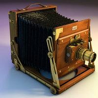 sanderson field camera 3D