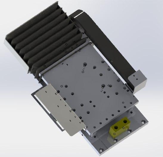3D gear rack drives manipulator