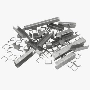 staples 3 3D model