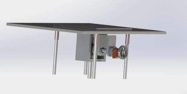 z axis manually fine-tuning 3D model