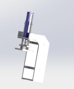3D pressure laminate mechanism