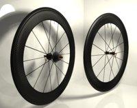 Carbon wheels road bike