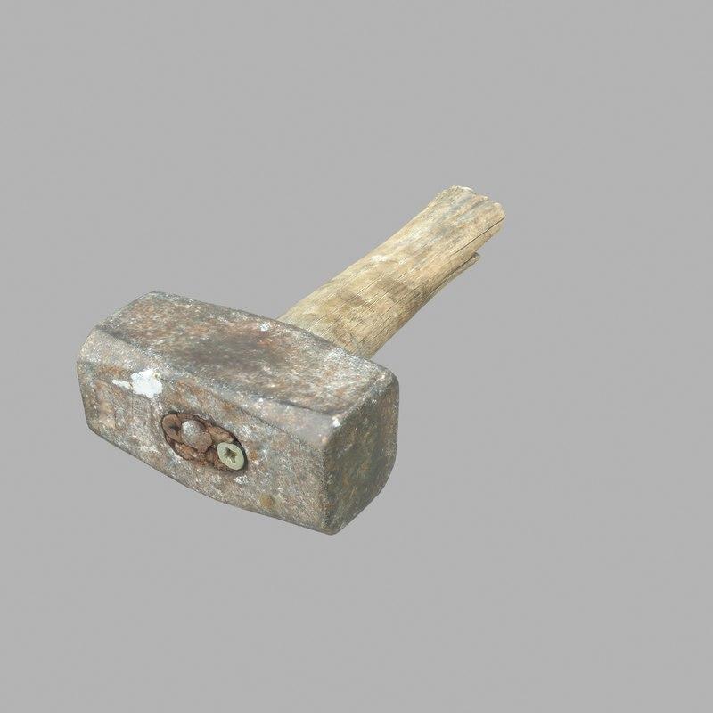 hammer old 3D