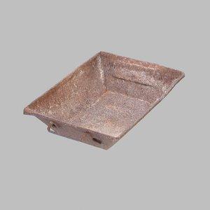 3D rusty tray