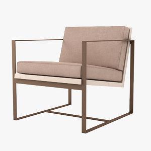 redford house manhattan armchair 3D
