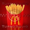 fries mc 3D model