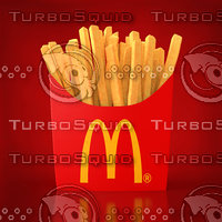 fries mc 3D model