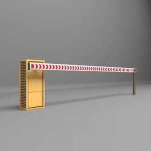 3D barrier parkin park model