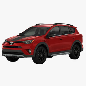 3D model toyota rav4 adventure suv