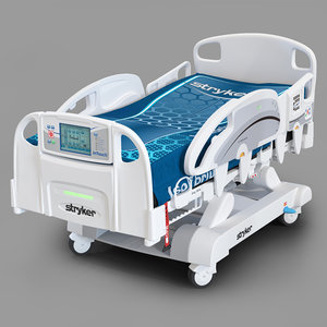 hospital bed stryker intouch 3D model