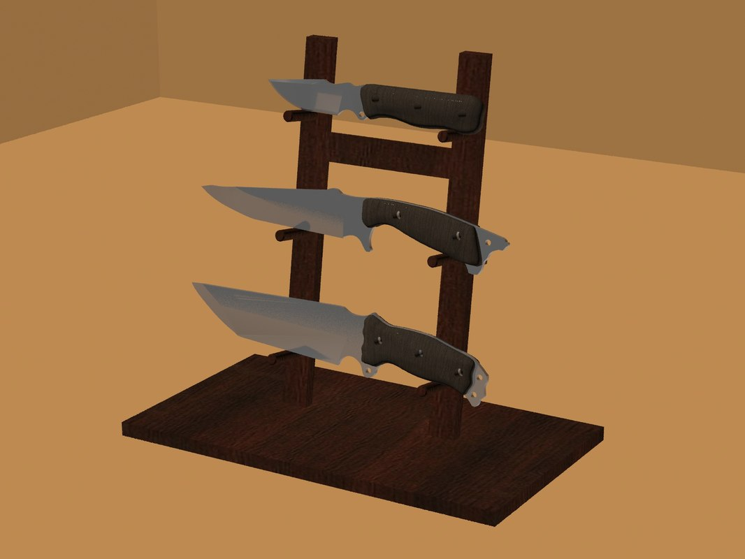 3D set knives