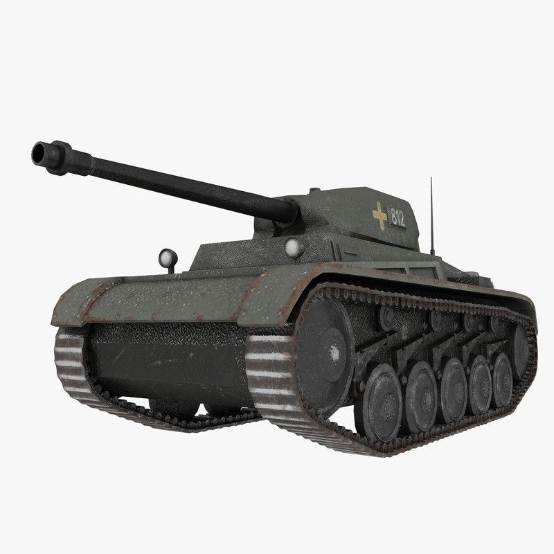 3D tank ww2
