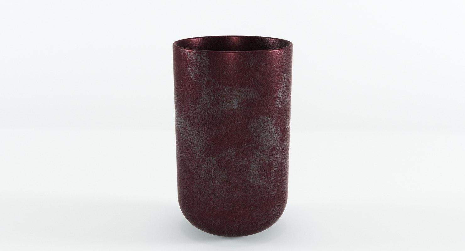 3D house doctor style vase model