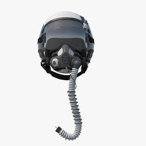navy pilot helmet 3D