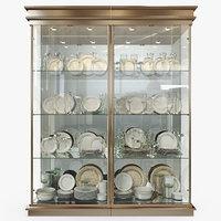 Birgit Israel - Pair of american brass display cabinets