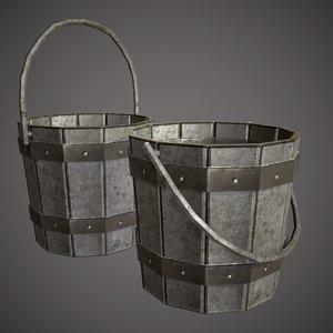 bucket pail 3D model