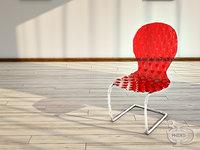3D chair 1 model