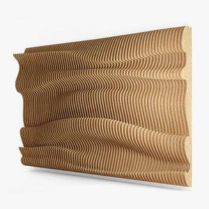 3D parametric wall