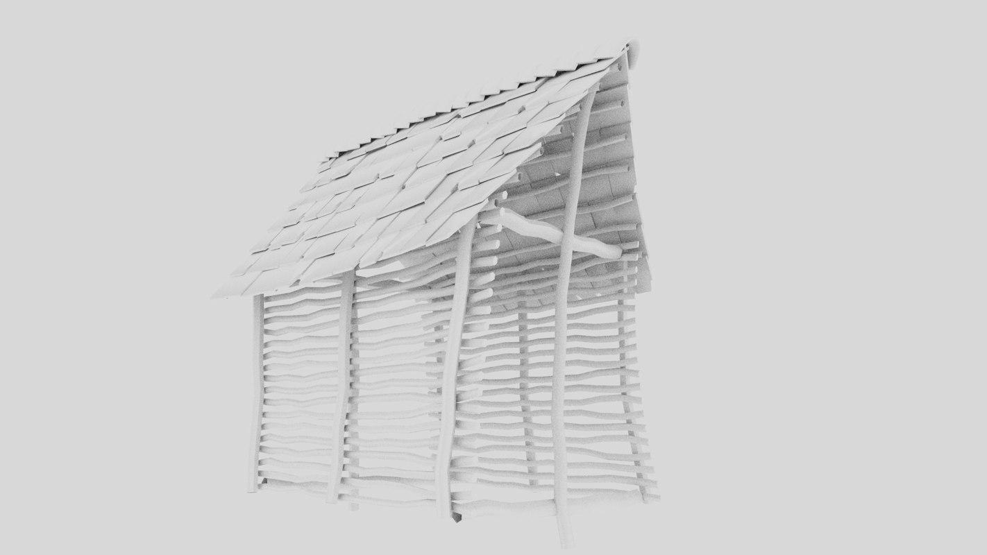hut 3D