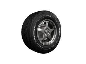 3D 5zigen rim tire