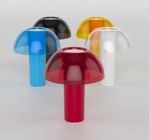 pedrali colette table lamp 3D