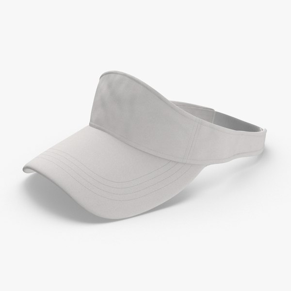 baseball-hat-visor---no-tag 3D