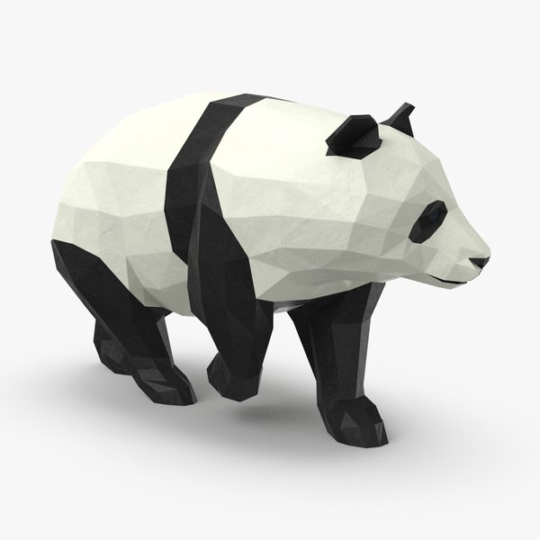 3D panda---walking