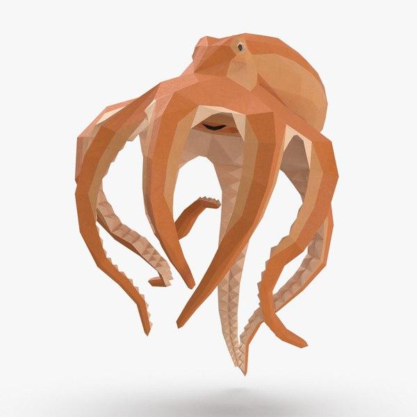 octopus---upward 3D