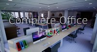 lightmapped complete shc quickoffice 3D model