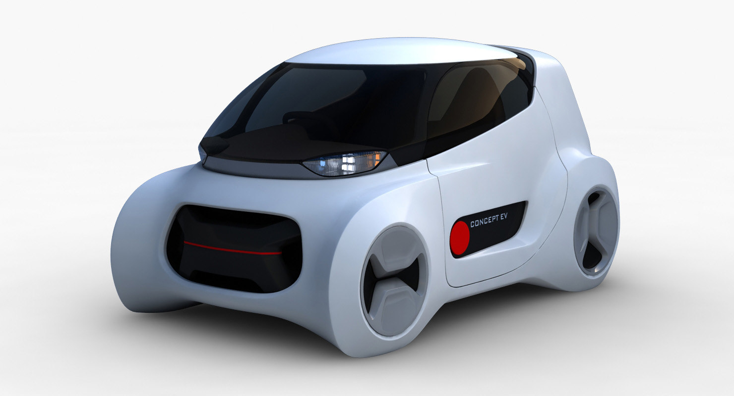 3D car kancil ev-5