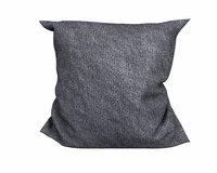 dark grey pillow model