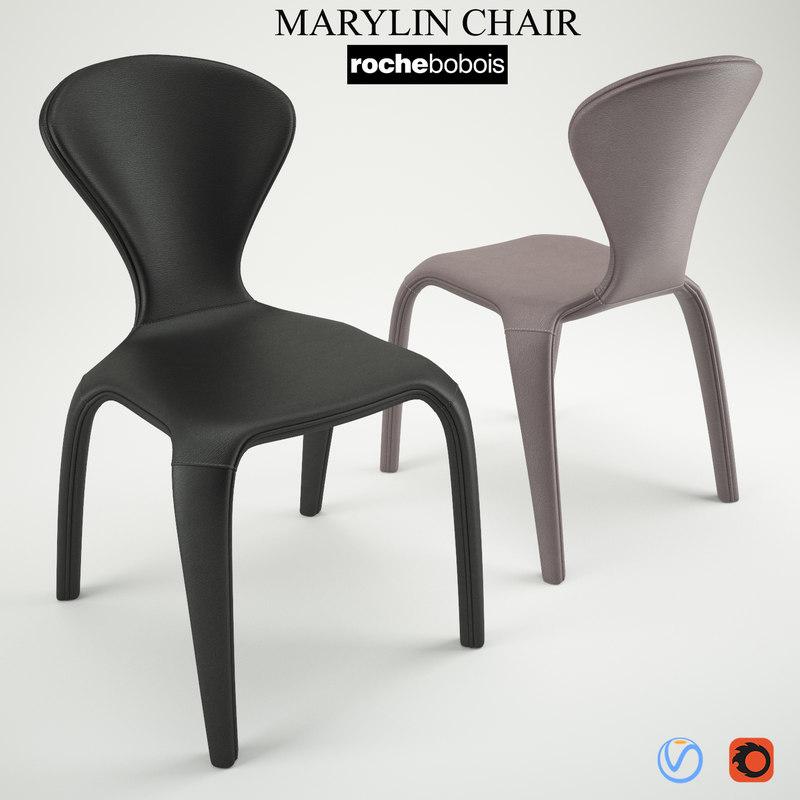 3D marilyn chair