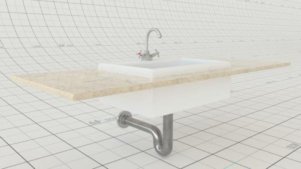 3D sink redshift