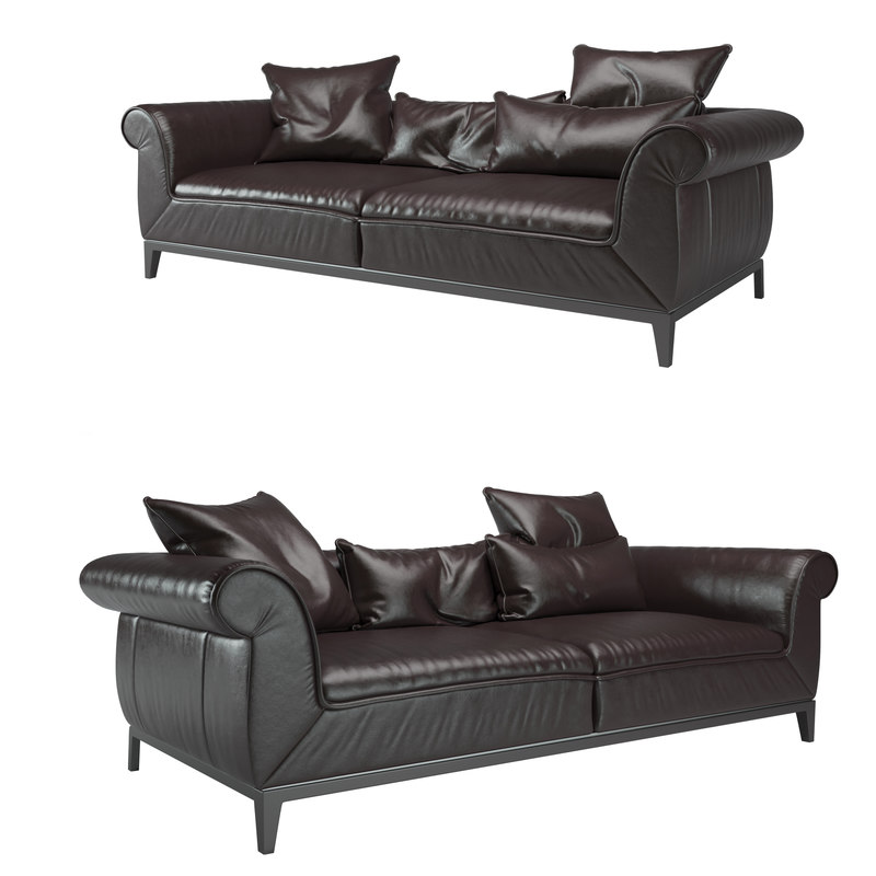 poliziano sofa natuzzi 3D model