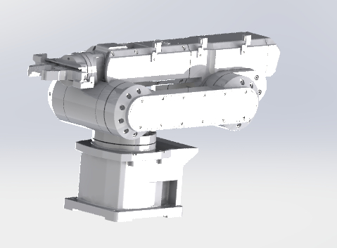3D large mechanical manipulator model