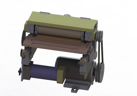 grinding polishing machine 3D model