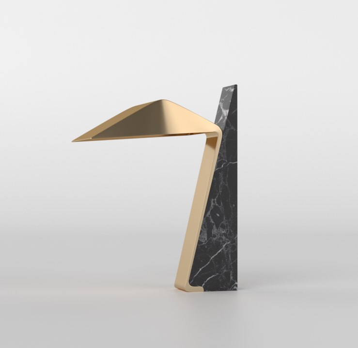 3D model luba table lamp