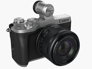 canon eos m6 3D model