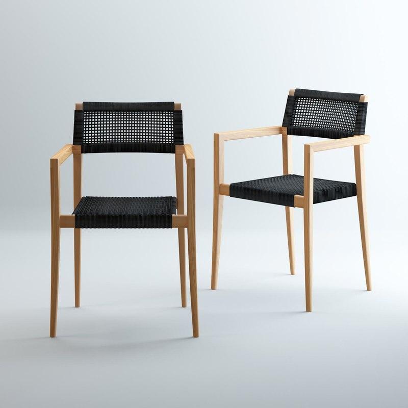 pianosa chair 3D model