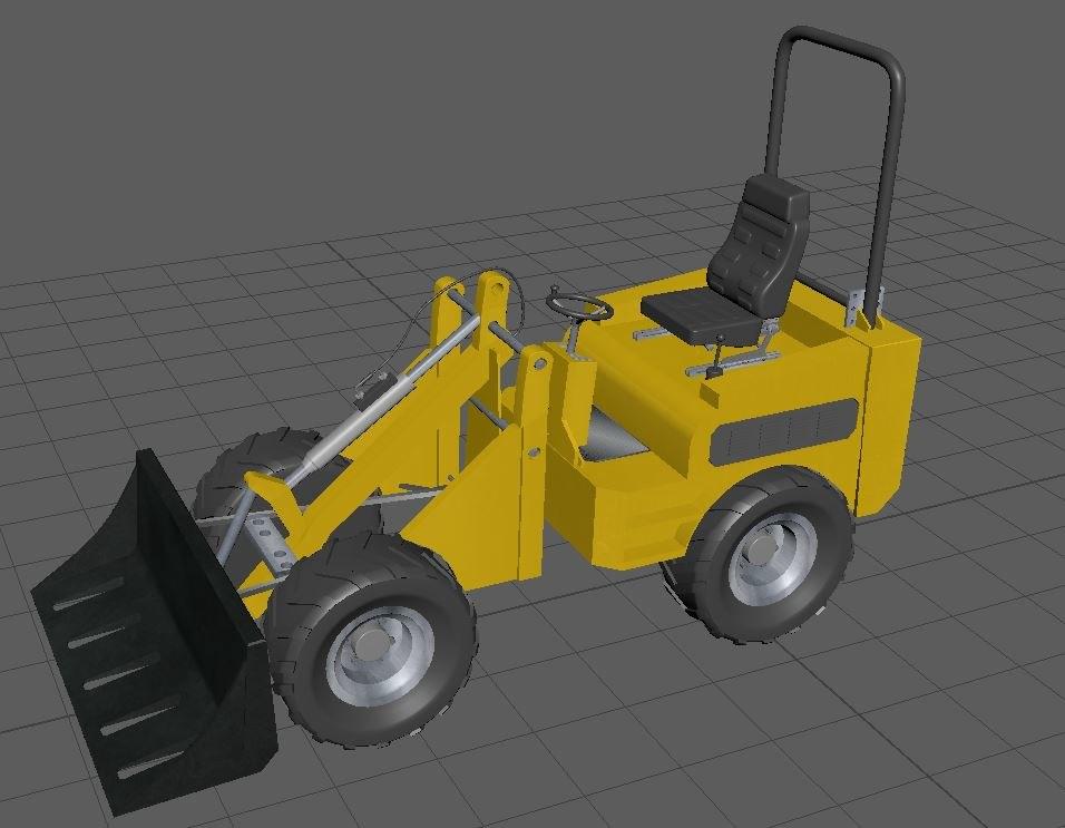 3D shovel work