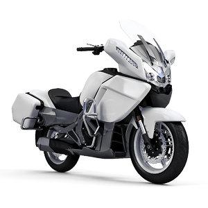 cfmoto 650cc motorcycle 3D