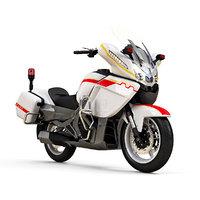 3D cfmoto 650cc police