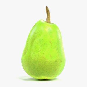 pear fruit pbr 3D model