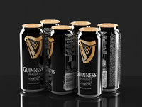 3D guiness beer model